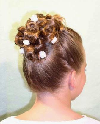 Peinados comunion mujer