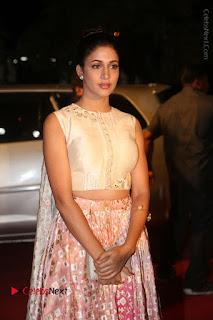 Actress Lavanya Tripati Stills in Beautiful Dress at Gemini TV Puraskaralu 2016 Event  0012.JPG