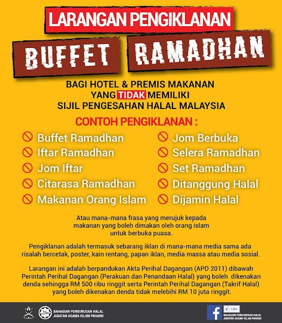 hotel ada sijil halal