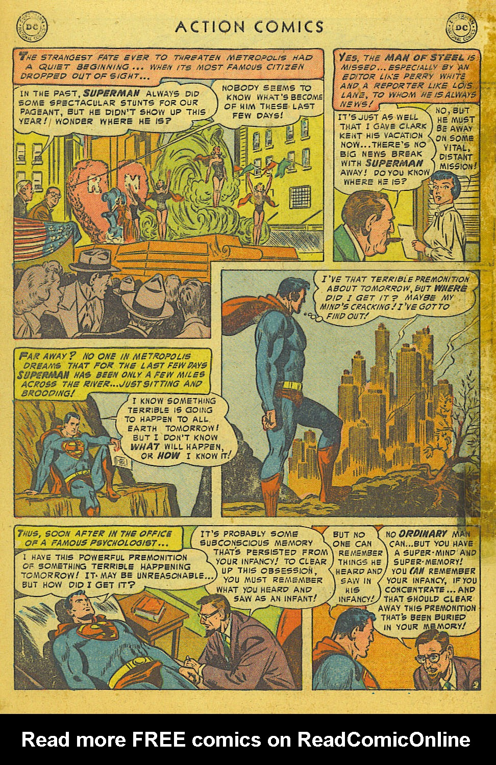 Read online Action Comics (1938) comic -  Issue #186 - 4