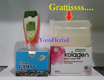 Jual cream Perawatan penghilang jerawat gamat gold/emas herbal alami