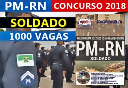 Concurso PM-RN 2018 - impressa e digital