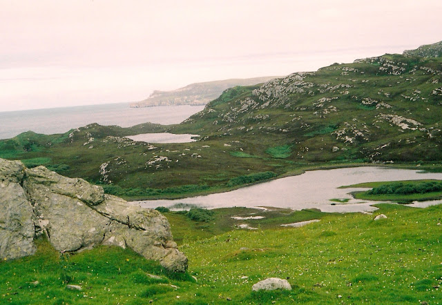 Scottish highlands near Durness