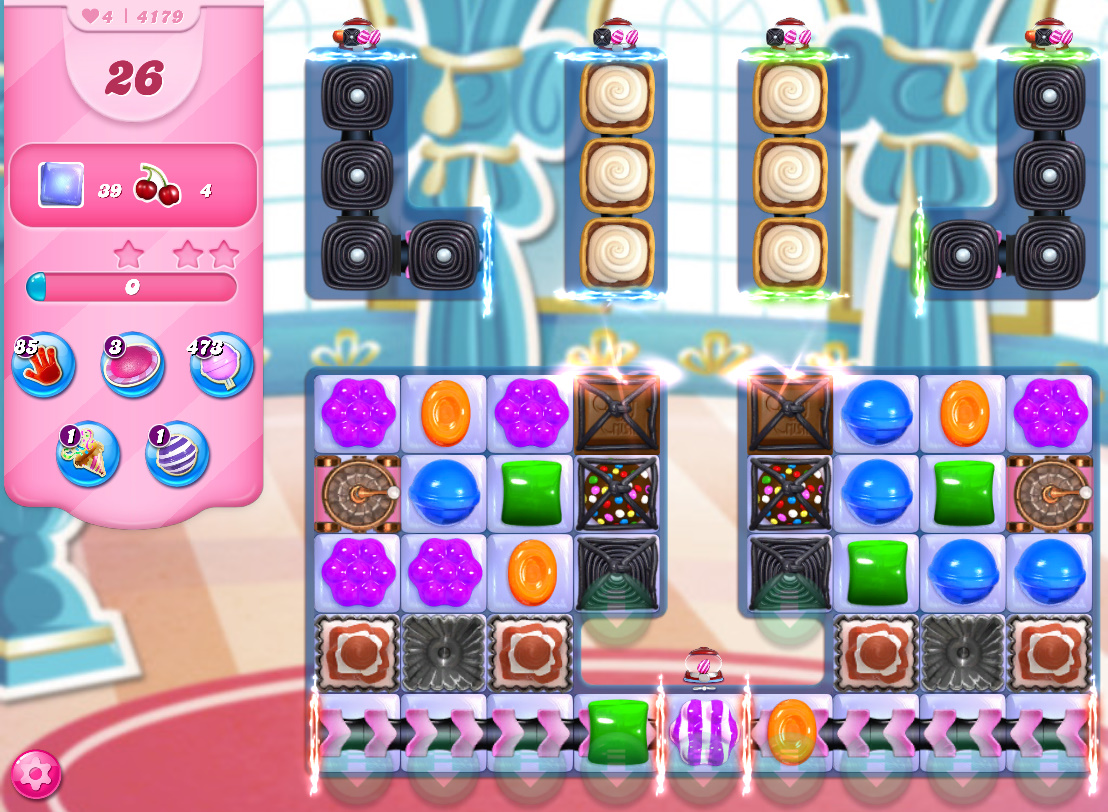 Candy Crush Saga level 4179