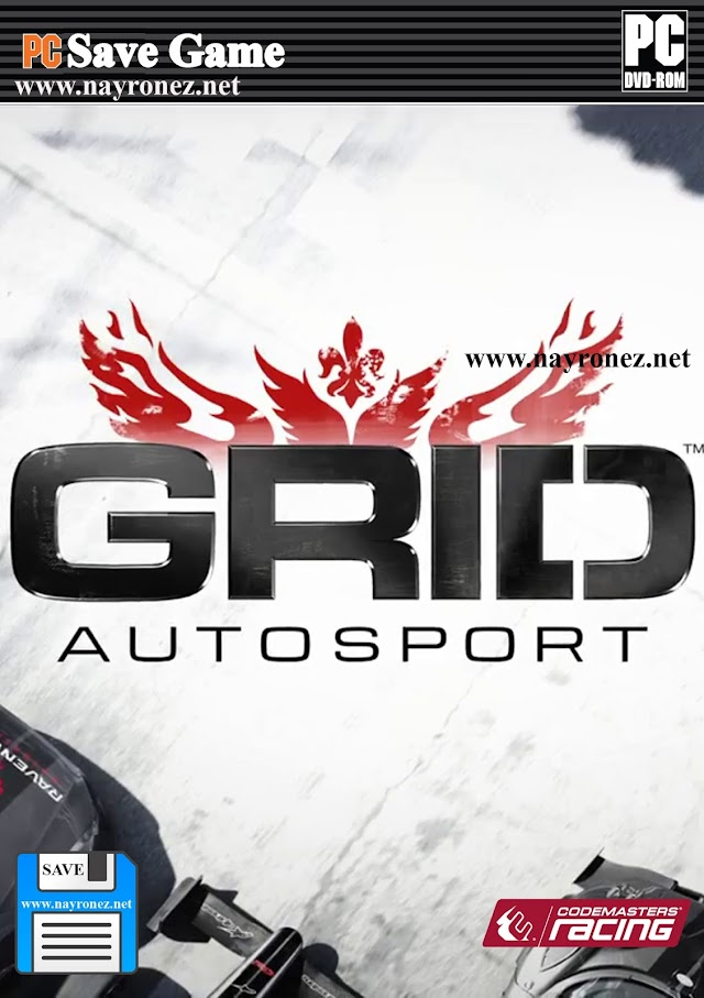 Save Game 100% Grid Autosport