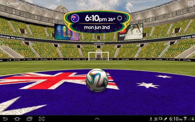 World cup 2014 live wallpaper free download