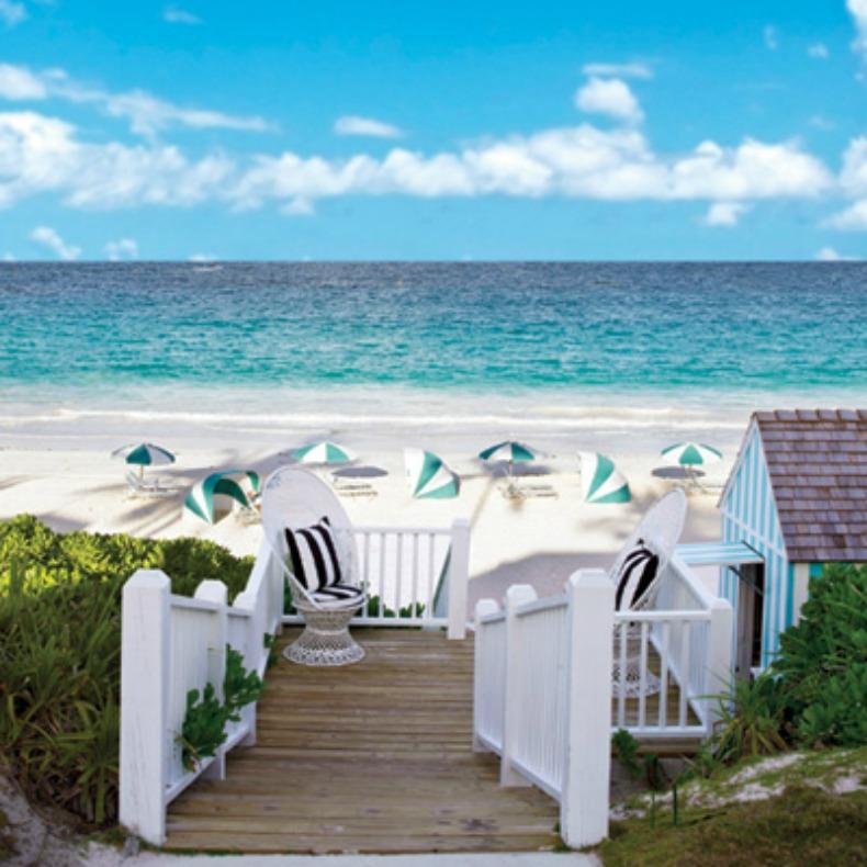 Bahamas Beach: Beach House Tour: Dunmore Beach Club