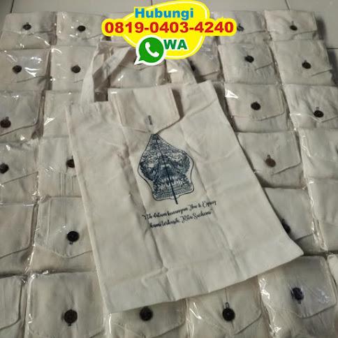 jual tas blacu untuk souvenir 52770