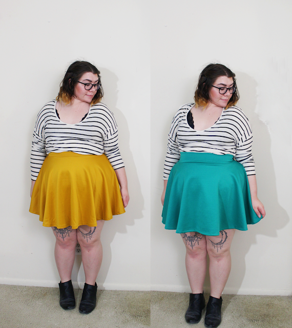 skater skirt, new in, fall haul