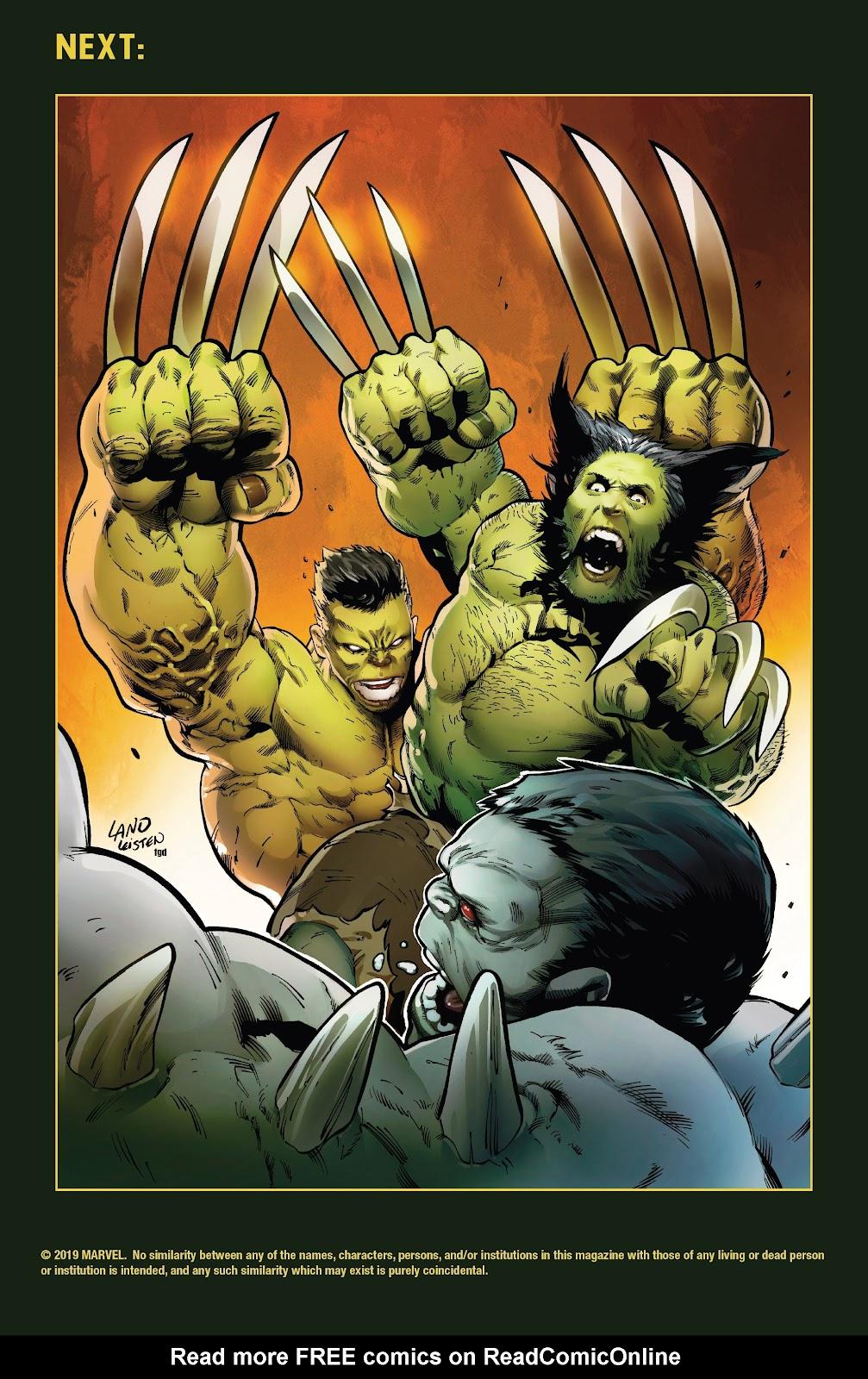 Read online Hulkverines comic -  Issue #2 - 33