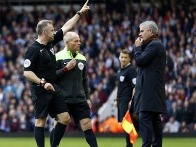 Agen Bola Online Terpercaya - FA Resmi Jatuhi Sanksi Skorsing Satu Laga dan Denda Untuk Mourinho