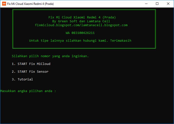 How to Bypass / Remove Mi Cloud (Mi Account) Redmi 4 Prada