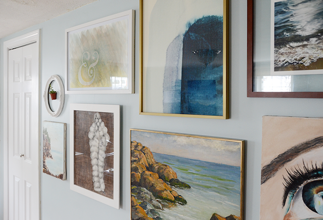 How To Hang A Gallery Wall by Design Fixation