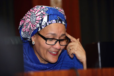 Amina Mohammed: UN deputy secretary-general: Gender equality will take 170 years