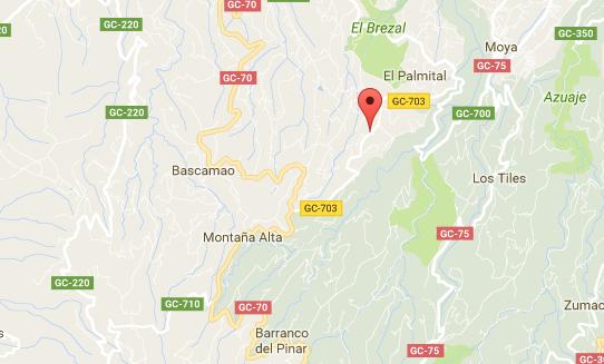 Cierre carreteras Gran Canaria alerta viento 12 febrero