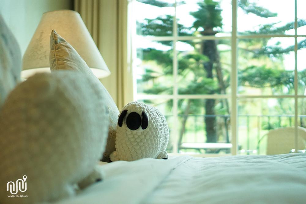 บรรยากาศของห้องแบบ Superior Room โรงแรม U Khao Yai