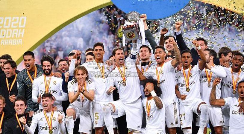رسميا ريال مدريد بطل كأس السوبر الأسباني بعد الفوز بضربات الجزاء على اتليتكو مدريد