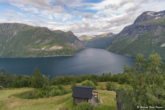 Geiranger Fiordo - Noruega por El Guisante Verde Project