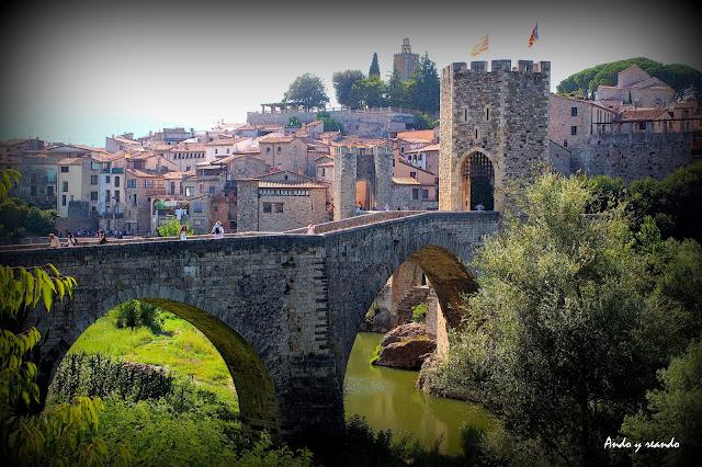 Puente de Besalú-Gerona