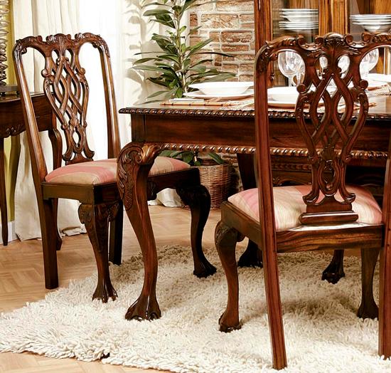 Blog de mbar muebles c mo son muebles de estilo chippendale - Sillas chippendale ...