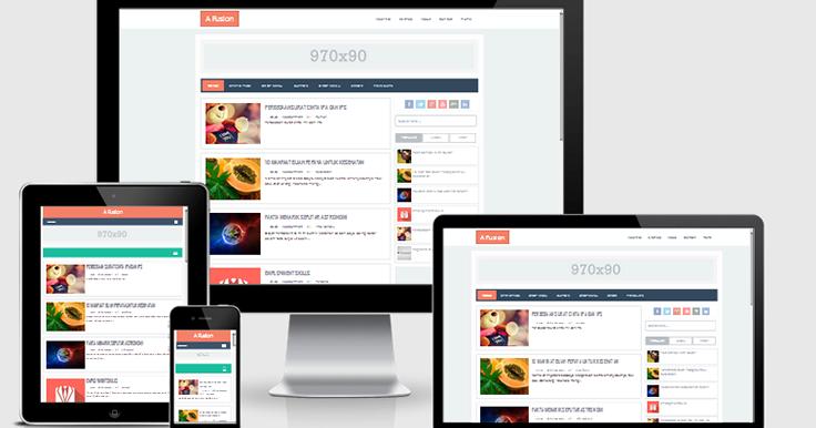 A Fusion Responsive Blogger Template | Blogger Templates Gallery