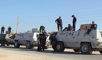 قوات الشرطة المصرية