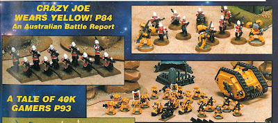 White Dwarf Battle Reports - Pics about space