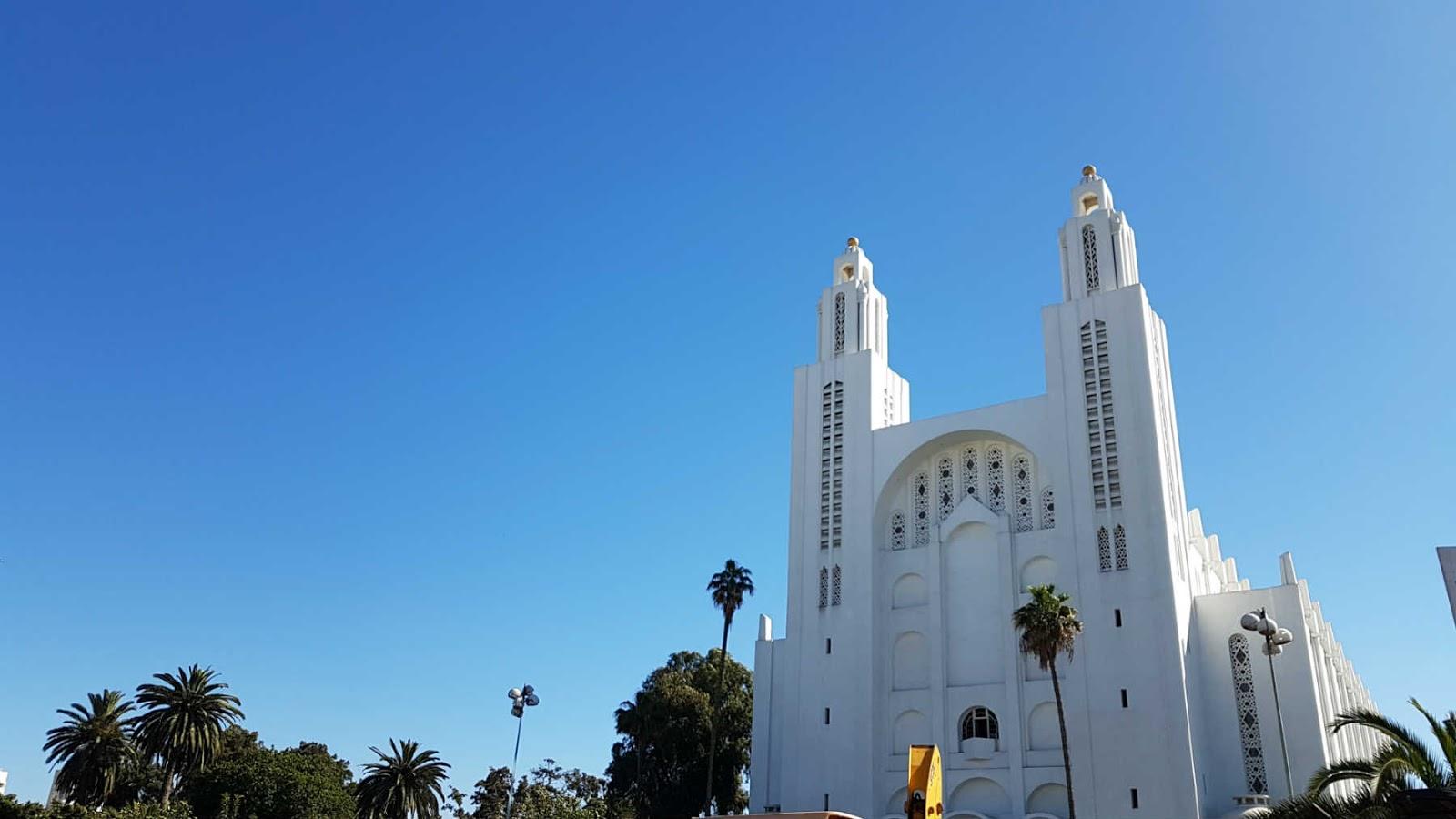 Catedral de Sacre Coeur de Casablanca, Marrocos.