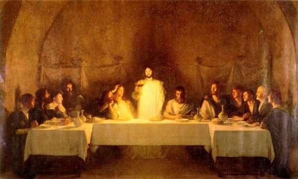 Última cena con Judas