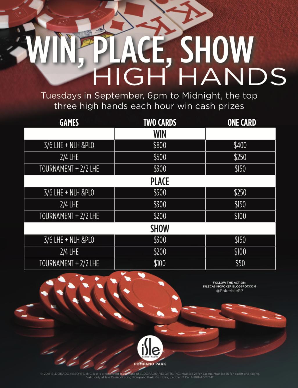 Isle casino poker high hand best gambling apps uk