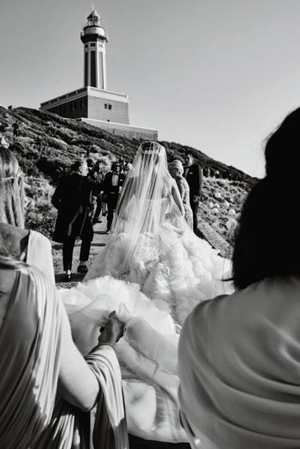 Giovanna Battaglia and Oscar Engelbert, Capri