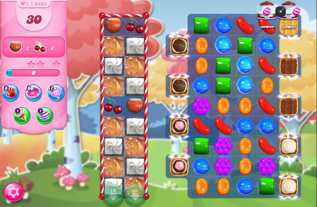 Candy Crush Saga level 6254