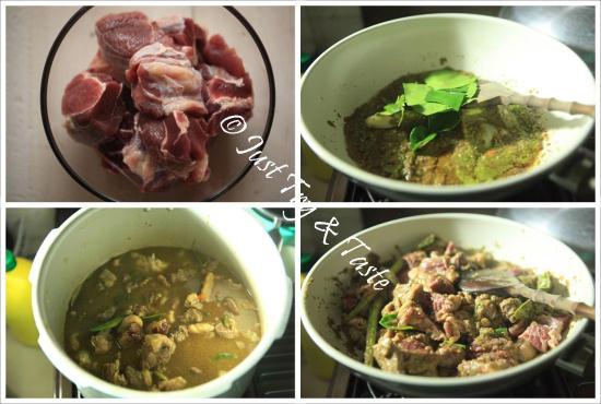 Resep Goreng Asem Daging Sapi dan Lontong Instan JTT
