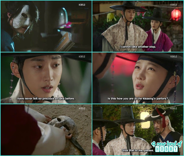 the mask man appear after the lantern festival - Love in The Moonlight - Episode 6 Review