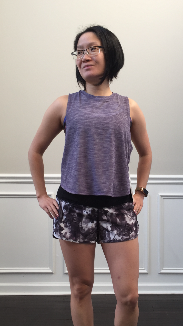 0b204ff187 Petite Impact  Fit Review Friday! Fast As Light Muscle Tank!