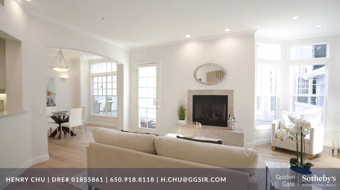 18 Interior Design Photos vs. 921 W Dana St, Mountain View, CA Luxury Townhome Tour