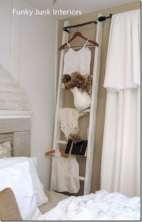 Riches to rags by dori ladder home and garden decorating for Decor ladder house