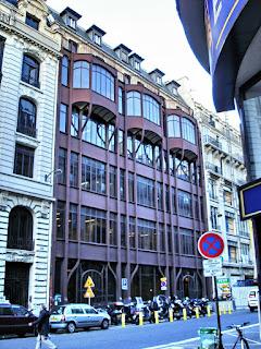 124, rue Réaumur. Immeuble Art Nouveau à structure métallique de 1904 (Arch. G.Chedanne)