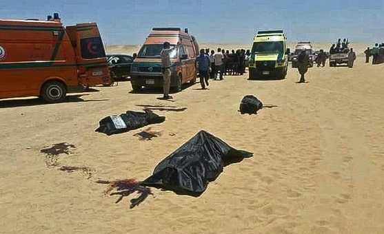 Cristianos asesinados por el Estado Islámico en Egipto