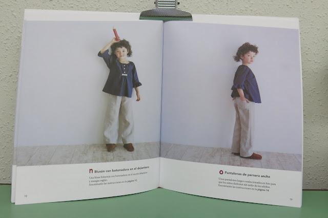Libro de costura para niños