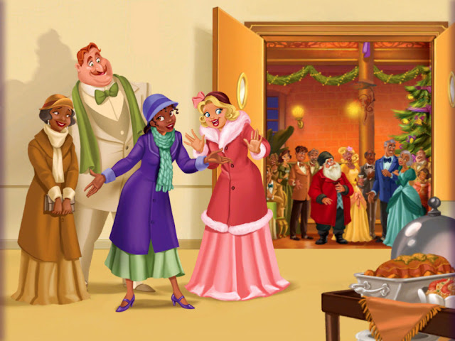 Disney Princess Christmas HD Wallpapers Free Download
