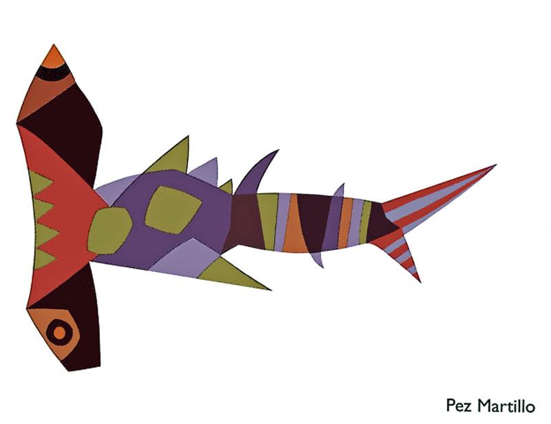El Rincn de Plstica de 1 Dibujos del mar los peces de Csar