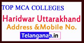 Top MCA Colleges in Haridwar Uttarakhand