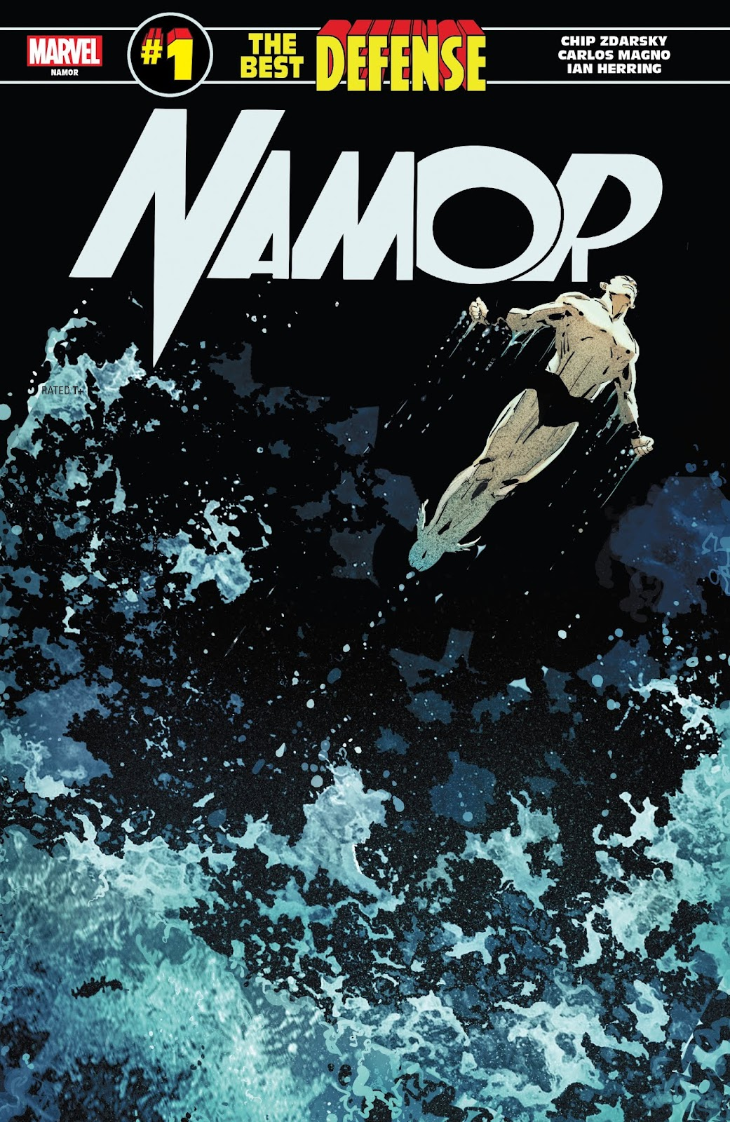 Namor: The Best Defense issue Full - Page 1