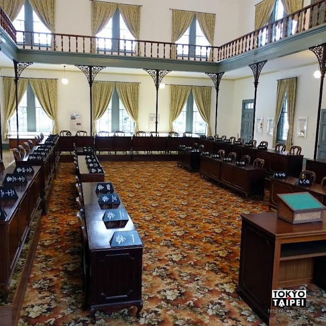 【新潟縣政紀念館】明治時代洋風建築 走入19世紀縣議會議事廳