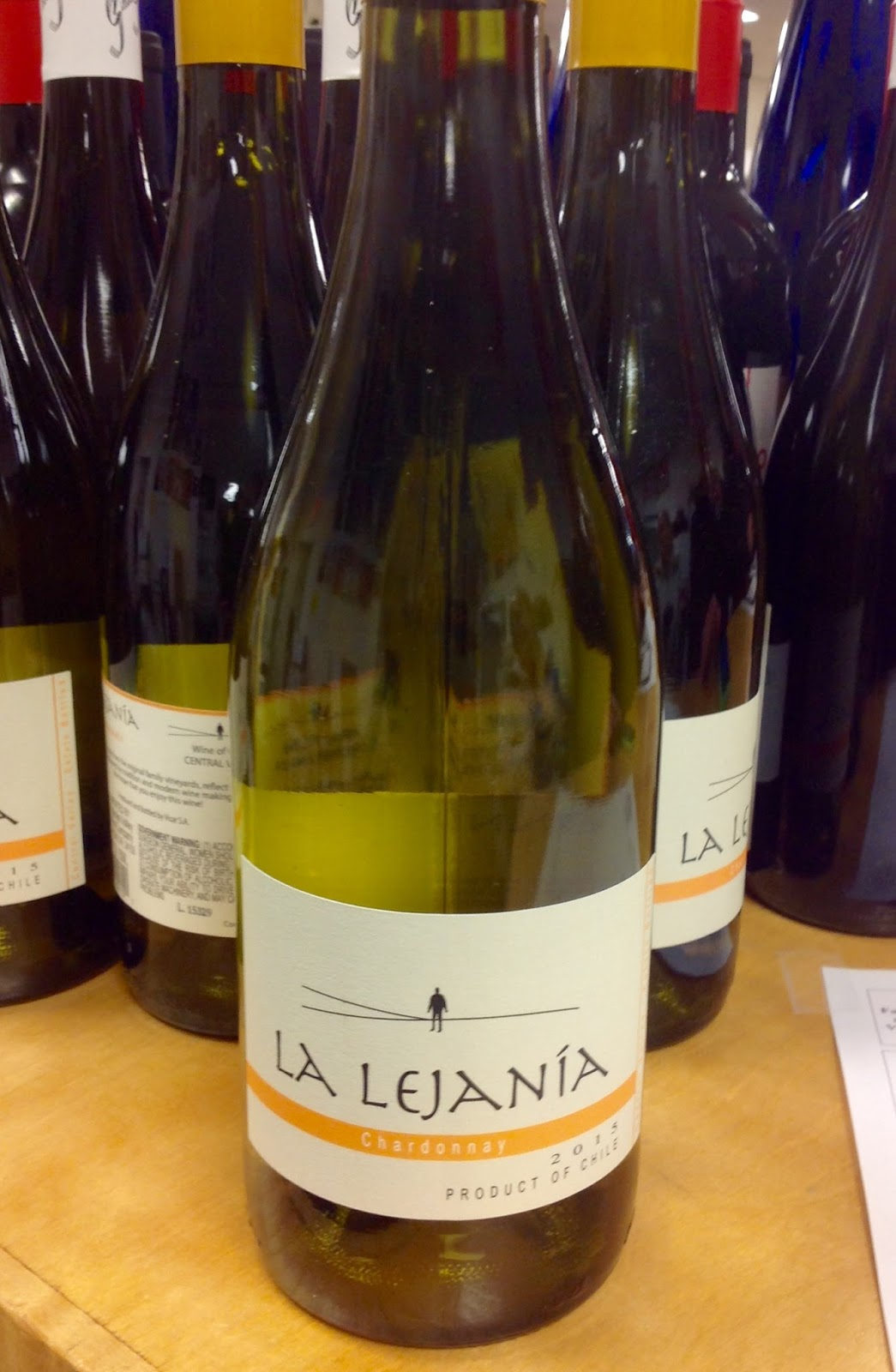 Tasting - La Lejania Chardonnay & Erinau0027s Wine Blog: Tasting - La Lejania Chardonnay