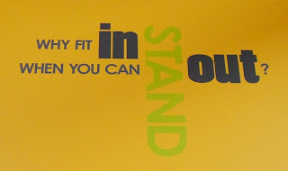 Wall Graphic Quote: Why Fit in When You Can Stand Out?