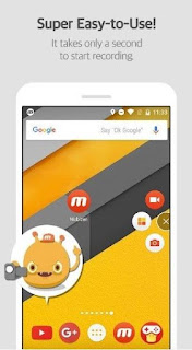 تطبيق Mobizen screen recorder