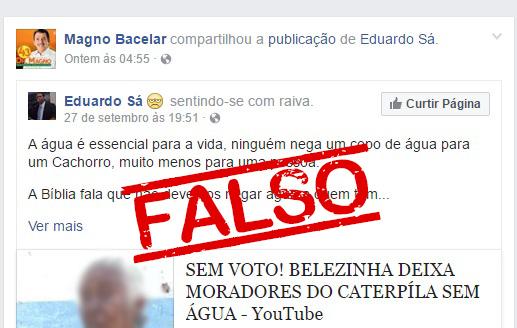 Chapadinha: Magno Bacelar desmentido por seus próprios eleitores