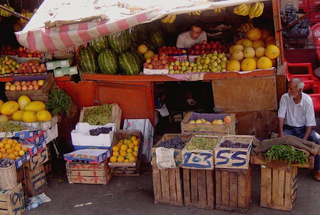 Bazar w Marrakeszu i marokański small talk